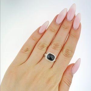 David Yurman Nobeless Black Onyx Diamond ring